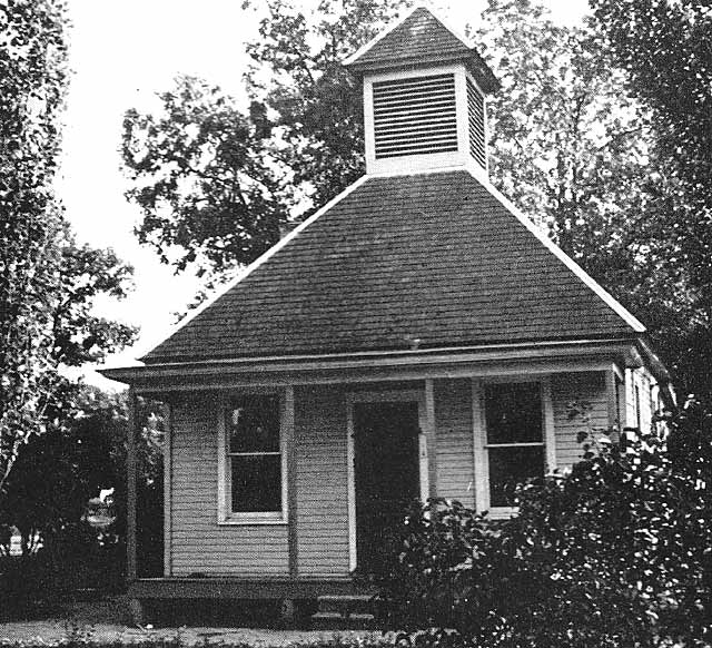 The original office building at the cemetery